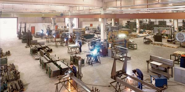 Вид мастерской в семидесятые годы